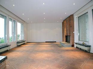 Потолок после установки Clipso.